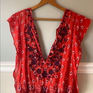 Adorable free people shirt/dress/coverup